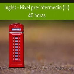 Inglés nivel pre-intermedio...