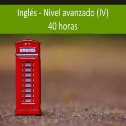 Inglés nivel avanzado (IV)