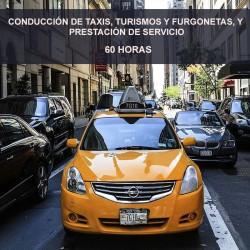 CONDUCCIÓN DE TAXIS,...
